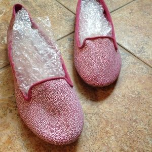 Speckled Ann Taylor flats